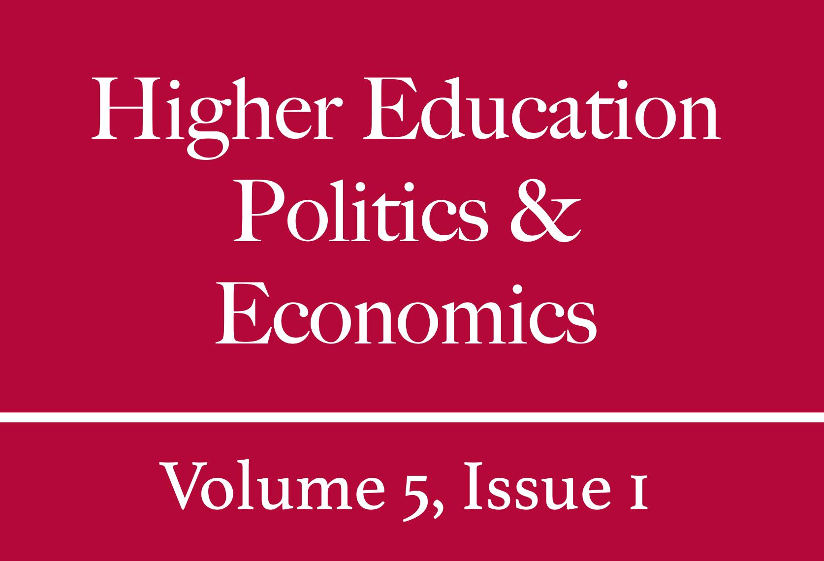 HEPE Volume 5, Issue 1